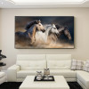 Robust Horses Picture Canvas Print