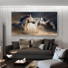 Robust Horses Picture Print for Home Decor