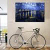 Starry Night Over Rhone Painting Print for Wall Decoration
