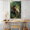Springtime Painting Print for Dining Room Decor