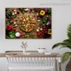 Pizza Food Modern Framed Artwork Image Canvas Print for Room Wall Getup