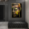 Lord Buddha Painting Print for Room Wall Decor