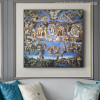 The Sistine Chapel Ceiling Painting Canvas Print