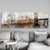 George Washington Bridge Painting Print for Living Room Wall Decor