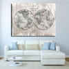 The World Painting Print for Room Decor