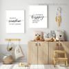 My Sunshine Quote Modern Framed Painting Photo Canvas Print for Room Wall Garniture