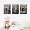 Lovely Rain Painting Canvas Print