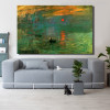 Sunrise Painting Canvas Print for Living Room Wall Art