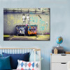 Life is Short Chill The Duck Graffiti Painting Print