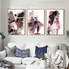 Girls Dance Watercolor Painting Canvas Print for Wall Decor