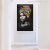 Afro Women Modern Portrait Picture Print