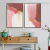 Shiny Lines Abstract Contemporary Framed Painting Photograph Canvas Print for Room Wall Disposition