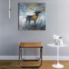 Deer Abstract Modern Wall Art Print for Wall Decor