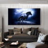 Dashing Horse Modern Animal Picture Print