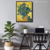 Irises Posy Impressionist Painter Van Gogh Painting Print for Dining Room Decor