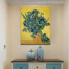 Irises Posy Impressionist Painter Van Gogh Painting Print for Living Room Decor