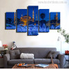 Sultan Ahmed Mosque Holy Wall Art Print