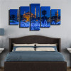Sultan Ahmed Mosque Religious Painting Canvas Print Bedroom Wall Art Decor