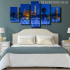 Sultan Ahmed Mosque Holy Painting Print for Bedroom Decor