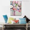 Hued Posy Abstract Watercolor Painting Print