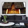 Islam Gate Muslim Religious Modern Canvas Painting Print for Room Decor