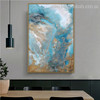 Auric Solution Abstract Landscape Modern Smudge Pic Canvas Print for Room Wall Ornamentation