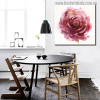 Garden Roses Abstract Modern Watercolor Floral Painting Print