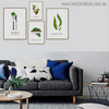 Veggie Modern Typography Painting Print for Room Adornment