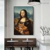 Mona Lisa IV Figure Renaissance Artwork Picture Canvas Print for Room Wall Adornment