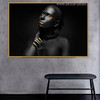Dark Lady Modern Figure Painting Photo Print for Wall Getup
