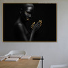 Black Distaff Modern Figure Painting Picture Print for Room Wall Outfit