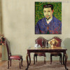 Doctor Felix Rey Reproduction Vincent Van Gogh Impressionist Painting Canvas Print for Dining Room Wall Decor