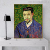 Doctor Felix Rey Vincent Van Gogh Impressionist Reproduction Figure Painting Canvas Print for Room Wall Outfit