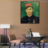 Paul-Eugene Milliet Vincent Van Gogh Impressionist Reproduction Figure Painting Print for Room Wall Garnish