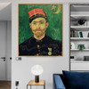 Paul-Eugene Milliet Vincent Van Gogh Impressionist Reproduction Figure Painting Print for Lounge Room Wall Garniture