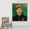 Paul-Eugene Milliet Vincent Van Gogh Impressionist Reproduction Figure Painting Print for Room Wall Assortment