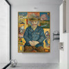 Pere Tanguy Vincent Van Gogh Impressionist Reproduction Figure Painting Print for Room Wall Decor