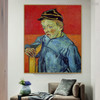 The Schoolboy Camille Roulin Vincent Van Gogh Impressionist Reproduction Figure Painting Print for Room Wall Ornament