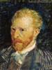 Self-Portrait Vincent Van Gogh Impressionist Reproduction Figure Painting Print