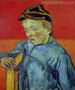 The Schoolboy Camille Roulin Vincent Van Gogh Impressionist Reproduction Figure Painting Canvas Print