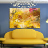 Chromatic Shade Abstract Modern Painting Picture Canvas Print for Lounge Room Wall Finery