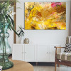 Chromatic Shade Abstract Modern Painting Picture Canvas Print for Wall Ornament