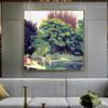 Bathers Wood Félix Edouard Vallotton Nude Landscape Impressionism Portrait Painting Canvas Print for Room Wall Decor