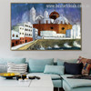 Cadiz Walter Gramatte Cityscape Expressionism Painting Picture Canvas Print for Room Wall Adornment