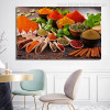 Indian Spices Food & Beverage Modern Picture Canvas Print for Dining Room Wall Outfit