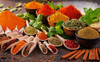 Indian Spices Food & Beverage Modern Picture Canvas Print