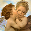 Angels and Cupids William-Adolphe Bouguereau Reproduction Print