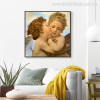 Angels and Cupids William-Adolphe Bouguereau Reproduction Canvas Print for Wall Finery
