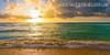Sea Shore Seascape Modern Landscape Picture Canvas Print