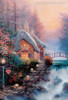 Sweetheart Cottage II Reproduction Painting Canvas Print